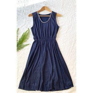 Navy & Dot Vintage Dress